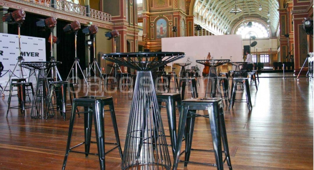 Features: Tait Bar Tables, Tolix Bar Stools