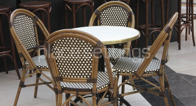 Features: Paris Cafe Table & Chairs