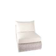 Coastal Rattan Side Chair