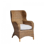 Provincial Wicker Wingback