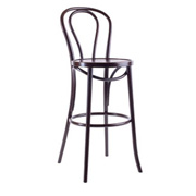 Bentwood Stool (w/Back)