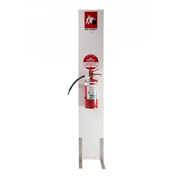 Fire Safety Equipment Stand + Extinguisher