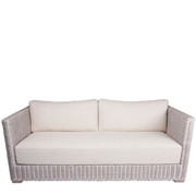 Hampton Wicker Sofa
