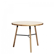 Scandi Natural Cafe Table