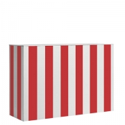 Stripe Painted Bar