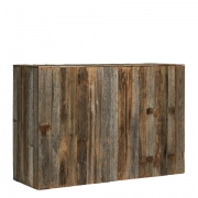 Rustic Wooden Bar