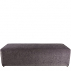 Charcoal Rectangle Ottoman